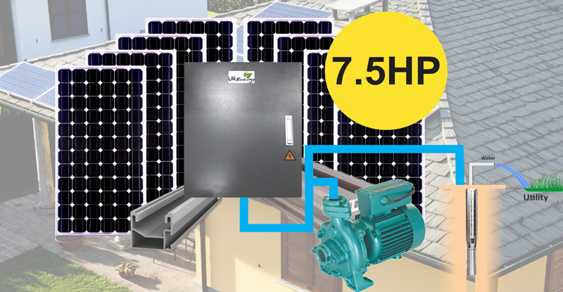 Solar Water Packages 7 5 Hp Solar Water System Kit U R